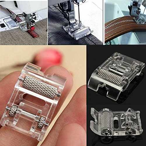 Leather Roller Presser Foot Replacement For Brother Singer Sewing Machine (Baby Lock Quarter Inch Foot compare prices)