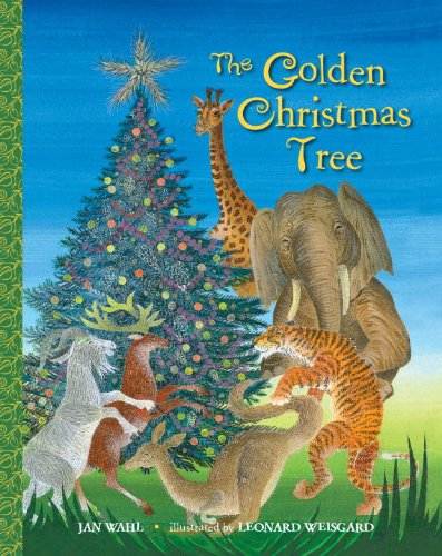 The Golden Christmas Tree (Big Little Golden Book)