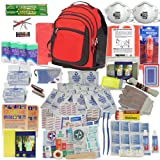 Deluxe 2-Person Perfect Survival Kit for Emergency Disaster Preparedness for Earthquake, Hurricane, Fire, Evacuations, Auto, Home and Family ~ PrepareMe America
