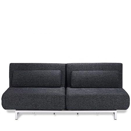 Canapé convertible et modulable design 3 places Archie - Couleur - Gris Cobalt
