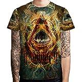Illuminati DMT DRUG Dark Psychedelic Hallucinogen lsd acid hipie Tee Men's T-Shirt Tee Fullprint T-Shirt Size 3XL