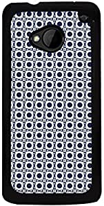 Printvisa 2D-HTCM7-D7911 Mobile Case Cover for HTC One M7