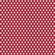 5ft Roll of Ruby Red with White Dots Paper Gift Wrap