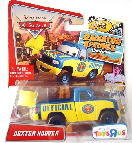 Pixar Cars Radiator Springs Classic-Toys R Us Only- Dexter Hoover by Mattel