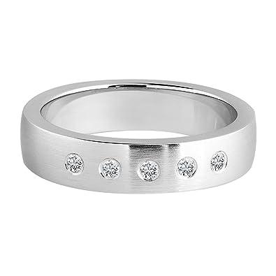 6 mm AAA Perle Noire 14K Or Jaune /& 925 Argent Bague Diamant