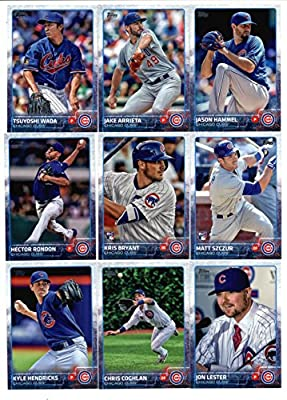 2015 Topps Baseball Cards Chicago Cubs Team Set In Storage Case (Series 1 & 2 - 18 Cards) Including Arismendy Alcantara, Starlin Castro, Anthony Rizzo, Junior Lake, Brian Schlitter Team Card, Travis Wood, Javier Baez, Jorge Soler