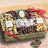 Mothers Day Chocolate Caramel and Crunch Grand Gift Basket