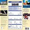 Sports Fanatic Walmanac 2016 Wall Calendar