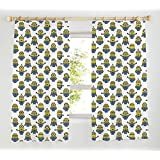 "Despicable Me Minions Pencil Pleat Curtains 66"" x 54"""