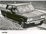 1967 Fiat 125 4 Door Saloon Factory Photo