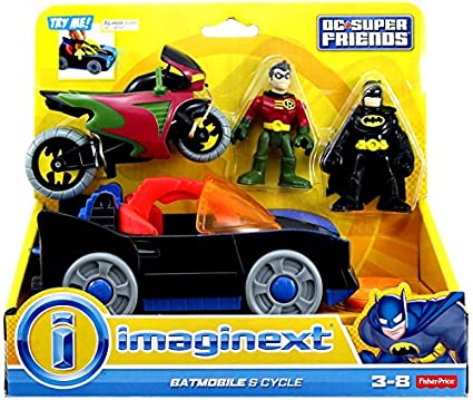 Batmobile Toy Imaginext Batmobile And Cycle Toy