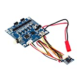 DoMoment Blue 2 Axis BGC MOS 3.0 Large Current Brushless Gimbal Controller with Sensor Board Driver Alexmos Transducer Kit