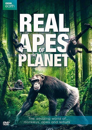 DVD : Real Apes Of The Planet (Eco Amaray Case)