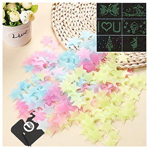 uwild-vibrantes-de-la-etiqueta-engomada-100-piezas-luminosas-estrellas-de-pegatina-fluorescente-para
