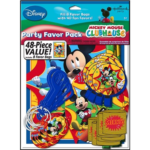 Mickey mouse Amigos Favorecer Pack - Cada