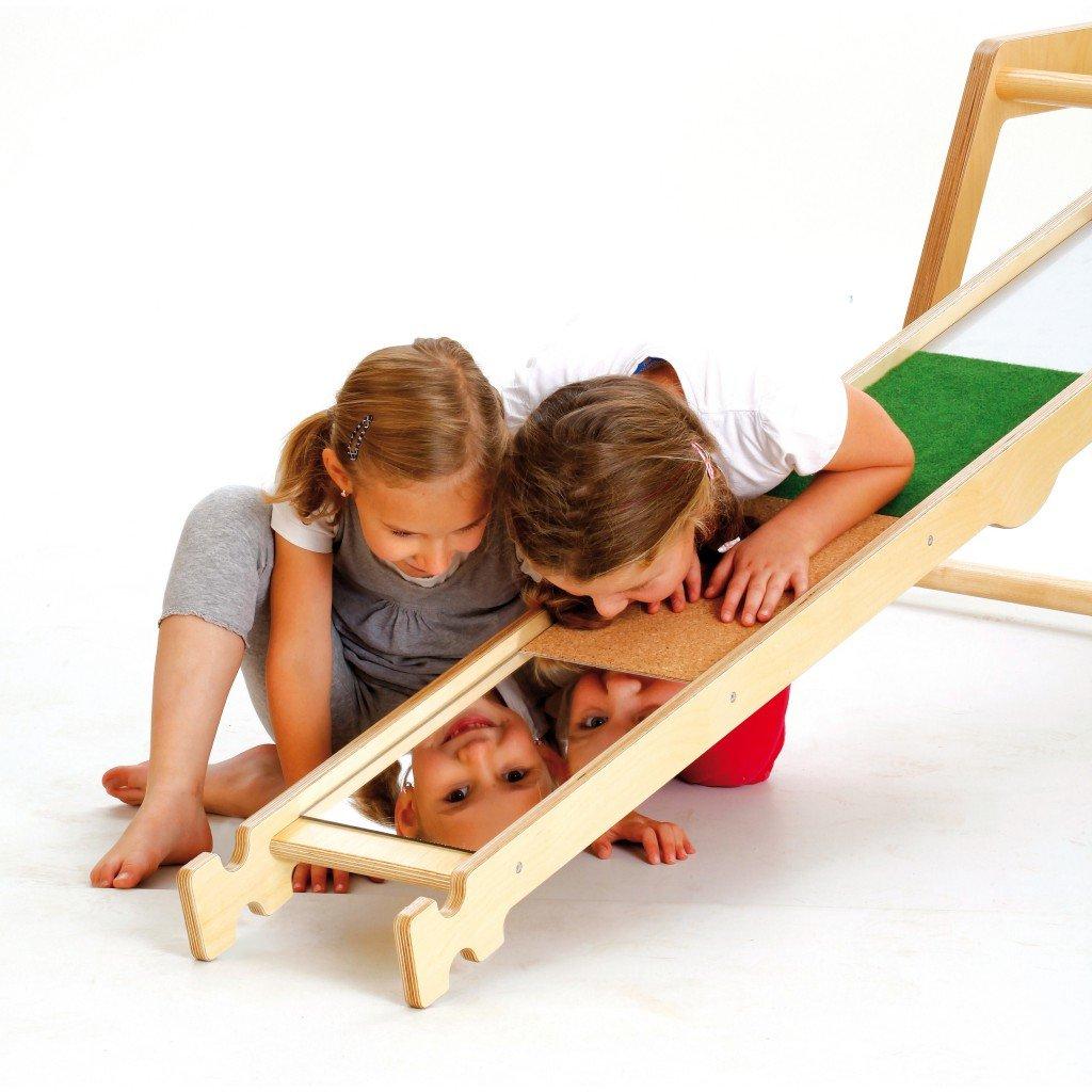 Erzi Balancierbrett Materialmix, Gleichgewichtsbrett, Fühlbrett, aus Birkensperrholz, Maße 190 x 24 x 8,5 cm, bunt jetzt bestellen