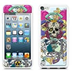 id America Cushi Plus Apple iPod touch5用 【3DスキンシールとバンパーSET 保護カバーケース】 Queen CSICF501-QUEEN-A