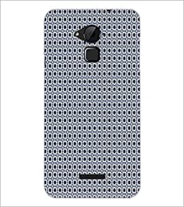 PrintDhaba Pattern D-5907 Back Case Cover for COOLPAD NOTE 3 LITE (Multi-Coloured)