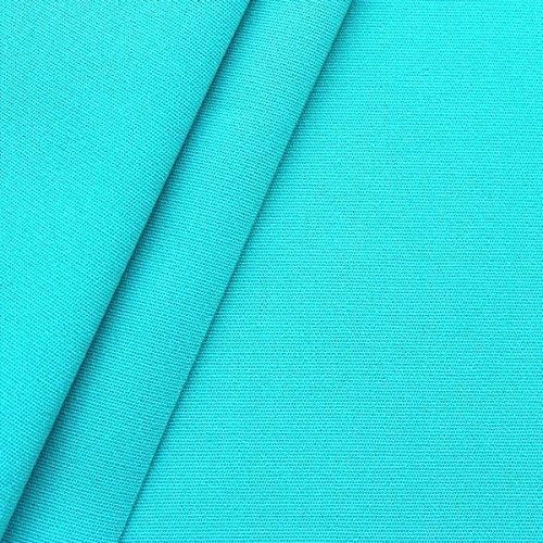 Markisenstoff Outdoorstoff Breite 160cm Türkis-Blau günstig