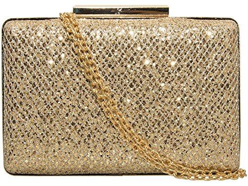 Haute For Diva's Womens Glitter Shimmer Hardcase