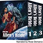 Alien's Bride Box Set Hörbuch von Yamila Abraham Gesprochen von: Rose DeMarco