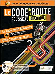 le code de la route rousseau moto 1dvd codes rousseau 9782709512084 books. Black Bedroom Furniture Sets. Home Design Ideas