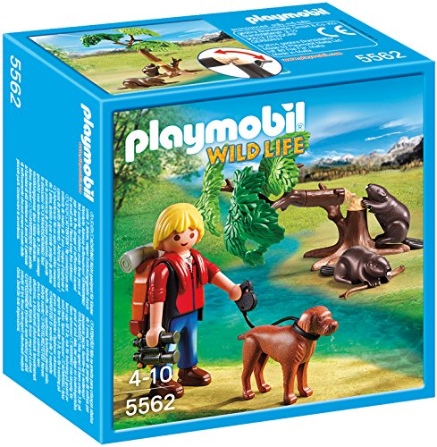 PLAYMOBIL Beavers with Backpacker Building Kit