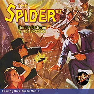 Spider #16 January 1935 Audiobook
