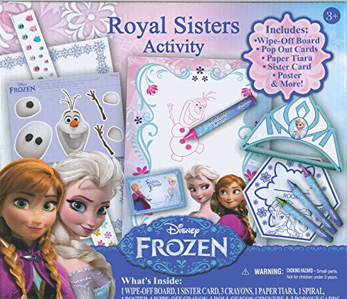 Disney Frozen Royal Sisters Activity