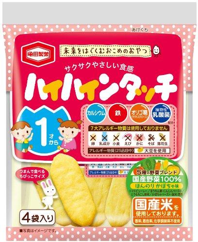 亀田製菓 1才からのハイハインタッチ 4個 ×12個