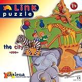 """chelona Wooden Puzzle City Puzzle 21103 """"""""Zoo""""""""""""von """"Chelona"""""""