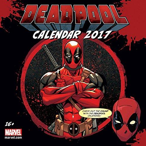Deadpool - Marvel Comics, Calendario Ufficiale 2017 Poster Calendario (30 x 30cm)