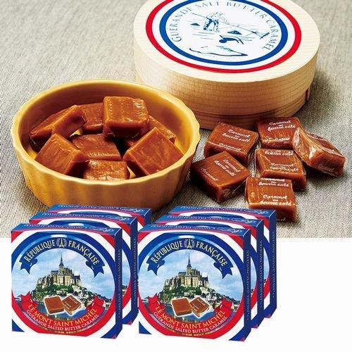 モンサンミッシェル 塩キャラメル 6箱セット 【フランス 海外土産 輸入 スイーツ、洋菓子】161563