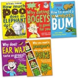 Mitchell Symons Mitchell Symons Pack, 5 books, RRP £24.95 (How Much Poo Does an Elephant Do?; How To Avoid A Wombat's Bum; Why Does Earwax Taste So Gross?; Why Eating Bogeys is Good For You; Why You Need a Passport When You're Going to Puke).