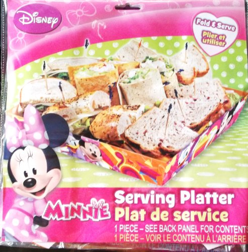 Disney Minnie Serving Platter