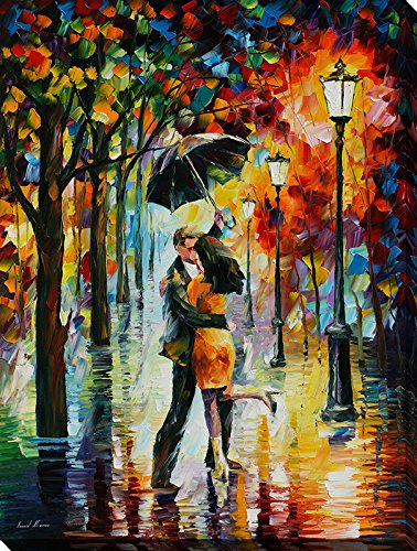 inspirational love posters - dance under the rain