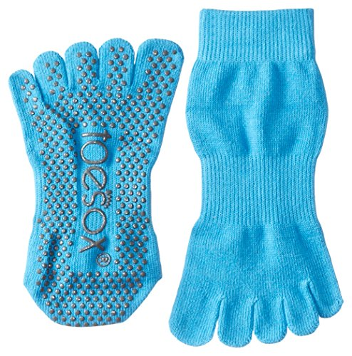 ToeSox Full Sock, Color- Skydiver (Blue), Size- small, Color- Skydiver (Blue), Size- small