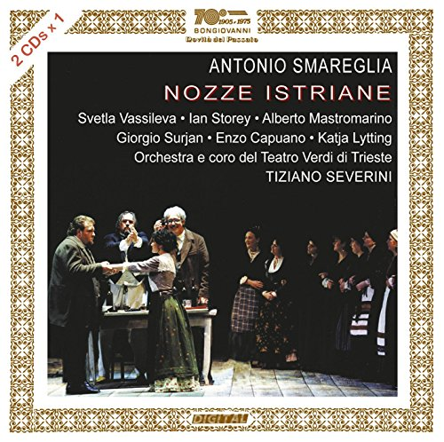 CD : SMAREGLIA / VASSILEVA / STOREY / MASTOMARINO - Nozze Istraine (2 Discos)
