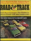 img - for Road and Track Magazine (May 1975) (Economy Car Comparison Test cover) (Vol. 26; #9) (26) book / textbook / text book