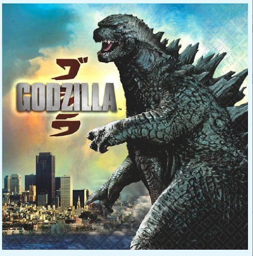 Godzilla Party Lunch Napkins 16 Ct