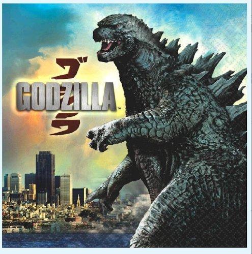 Godzilla Party Lunch Napkins 16 Ct - 1