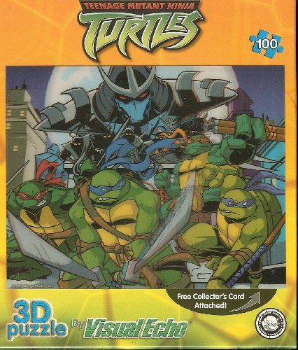Teenage Mutant Ninja Turtles TMNT Lenticular Puzzle 100 Pieces - 1