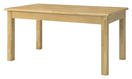 Tisch 130x80 cm, Farbe: Natur