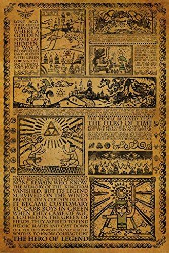 Zelda - Story of the Hero Poster - 24x36