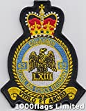 No 63 Squadron Royal Air Force Regiment RAF Embroidered Badge Patch