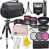 Professional Accessory Bundle Kit For Nikon D3300, D3200, D5000, D5100, D5200, D5300, D5500, D7000, D7100, D7200 & DSLR Cameras (52mm), 15 Nikon Accessories