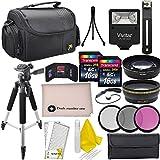 Professional Accessory Bundle Kit For Nikon D3300, D3200, D5000, D5100, D5200, D5300, D5500, D7000, D7100, D7200 & DSLR Cameras (52mm), 15 Nikon Accessories