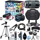 Canon EOS Rebel T5i Video Creator Kit w Lens - Rode VideoMic - 32GB Card Deluxe Bundle includes EOS Rebel T5i Camera - 18-55mm Lens - 75-300mm Lens - Tripod - Bag - 55mm Filters - Beach Camera Cloth + More!