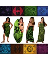 Sarongs - Floral, Celtic, Tie Dye. Assorted, We Pick the Sarong. Free Gift!