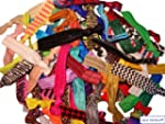 No Crease Hair Ties - 50 Pack (Prints...